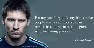 Messi Quotes Extraordinary Lionel Messi Quotes Quotes