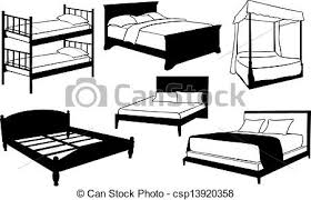 beds clipart. Delighful Beds Beds  Csp13920358 With Beds Clipart T