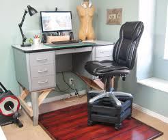 diy office desk accessories. Tall Chair For Standing Desk Leather Diy Office Accessories