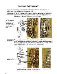 B Flat Soprano Sax Finger Chart Saxophone Fingering Chart Beginning Saxophone Saxstation