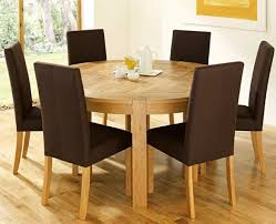 pallet textured rustic round dining room table furniture lacquer mixed dark brown upholstered chairs tables create