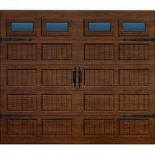 garage door home depotMartin Garage Doors Wood Collection Silverlake 8 x 7 ft Grooved