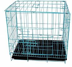 Light Blue Dog Crate Sri Dog Cage For Dog With Removable Tray Light Blue Dog