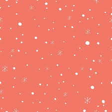 Christmas Pattern Simple Christmas Pattern With Snow Vector Free Download