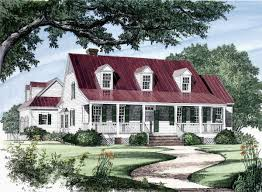 exterior colonial house design. Click Here To See An Even Larger Picture. Colonial Cottage Country Farmhouse Southern Traditional House Plan Exterior Design