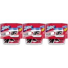 Ziploc Brand NFL Atlanta Falcons Twist 'n Loc Containers, Small, 2 ...