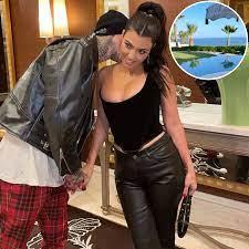 Kourtney Kardashian and Travis Barker ...