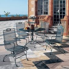 outdoor wrought iron furniture. Wonderful Woodard Wrought Iron Patio Furniture Residence Remodel Suggestion Briarwood Dining Outdoor
