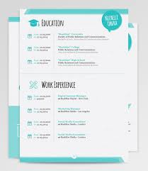 a perfect match for a creative professional the berenices resume template boldly showcases your professional background in an out of box cute resume templates