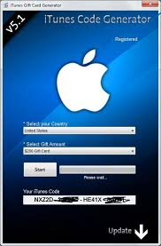 free itunes gift card codes generator