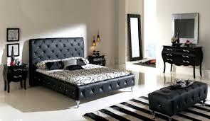 black leather headboard. Delighful Headboard Nelly Black Tufted Leather Headboard Modern Bedroom In Q