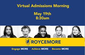 Roycemore School Virtual Admissions Morning - Evanston Now