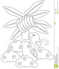 Small Picture Banana Tree Coloring Page Educationcom Banana Tree Coloring Page