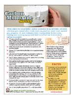 Carbon Monoxide Chart Levels Nfpa Carbon Monoxide Alarms