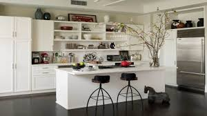 Open Kitchen Partition Furniture Useful Kitchen Shelves Decorating Ideas Modern Kitchen