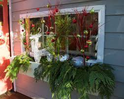 Christmas Window Box Decorations Ideas For Decorating Window Boxes For Christmas Diy christmas 61