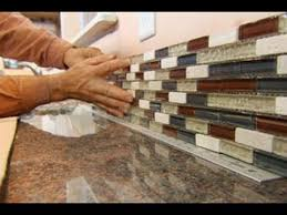 YouTube How To Install A Glass Tile Backsplash  This Old House