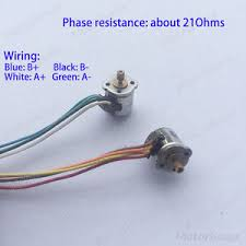 10pcs 2 phase 4 wire stepper motor 8mm micro mini stepper motor image is loading 10pcs 2 phase 4 wire stepper motor 8mm