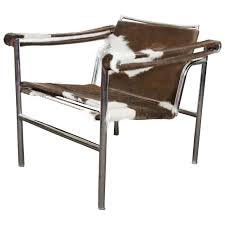 Le Corbusier LC1 Sling Chairs, Pair at 1stdibs