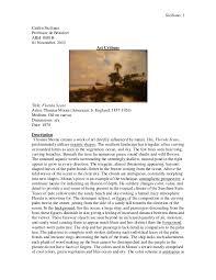 art criticism student example