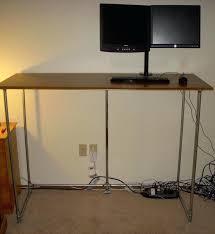 build cheap computer desk stnding chep glvnized build cheap desktop computer