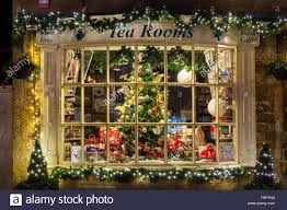 Full Size of Christmas: Christmas Tree Shops Broadway Tea Rooms Shop  Display Window At Night ...