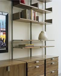 office wall shelving systems. Atlas AS4 Wall Mounted TV Stand, Home Office, And Library Shelving System   Apartment Office Systems S