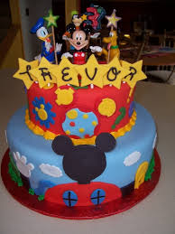 Designer Mickey Mouse Mickey Mouse Cake Decoration Ideas Little Birthday Cakes