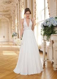 halter neck wedding dress bridalblissonline com