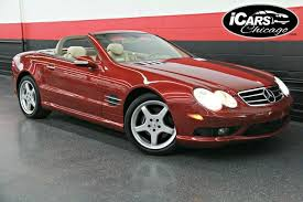 Another one which autohaus of naples sold is this beautiful 2 owner 2004 mercedes benz sl500 convertible finished in perfect colors, alabaster white with. 2003 Mercedes Benz Sl500 Amg Sport 2dr Convertible Skokie Il 18355063