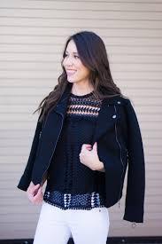 best leather jacket alternative black twill moto jacket