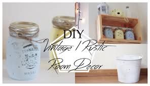 Vintage Room Decor Vintage Rustic Inspired Diy Room Decor Lara Elizabeth Youtube