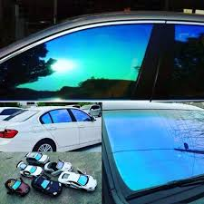 window tint colors for cars. Plain Tint Wholesale 23 20inch X 60inch Automobile Chameleon Window Tint Car Side  Blue Films Accordion Sunshade Windshield Sun Shade From  And Colors For Cars