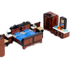 Minifig furniture - bedroom
