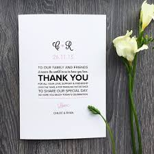 Wedding Program Messages Of Thanks - Everafterguide