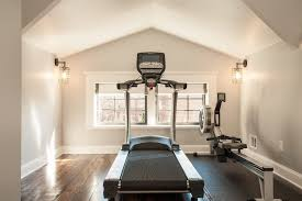 home gym lighting. home gym lighting craftsman with windows exercise room heart pine
