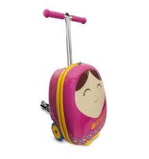 <b>Самокат</b>-<b>чемодан Zinc Betty</b>, цвет: розовый, артикул: <b>ZC04092</b> ...