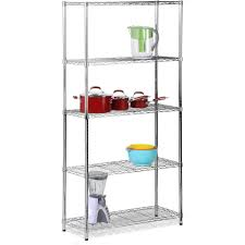 Plastic Coated Wire Racks Honey Can Do Urban 100Shelf Adjustable Steel Storage Shelving Unit 91