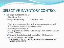 Basic Inventory Principles