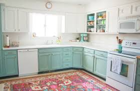 chalk painted kitchen cabinets two
