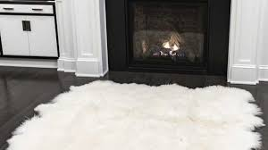faux sheepskin rug sheepskin rug costco as rug pads