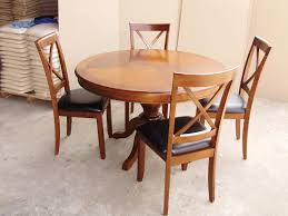 round oak table and 4 chairs starrkingschool dining se
