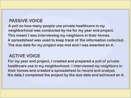 Active Voice Resume Examples Free Download