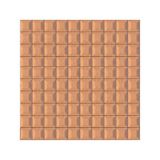 beveled glass 1x1 mosaic copper mirror square tile jmrm3 loading zoom