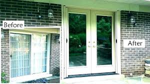 cost to install new sliding glass door how average