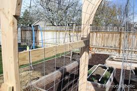 Small Picture Vegetable Garden Arbor DIY Plans