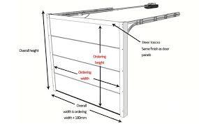 industrial garage door dimensions. Perfect Overhead Garage Door Dimensions And Sizes Measurements Up Over Sectional Industrial