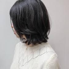 黒髪垢抜けヘアスタイル14選ショートボブロングのアレンジも Belcy