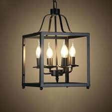 first uptown chrome five light chandelier cage wire brushed iron 4 lights cage