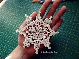 Quilling By Ada Romania Snowflake Steluta Quilling